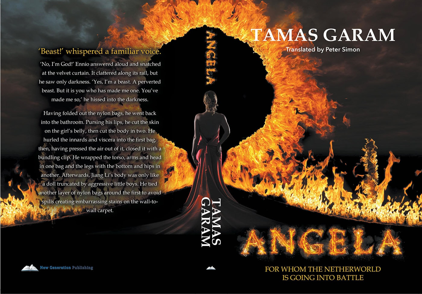 Angela book cover